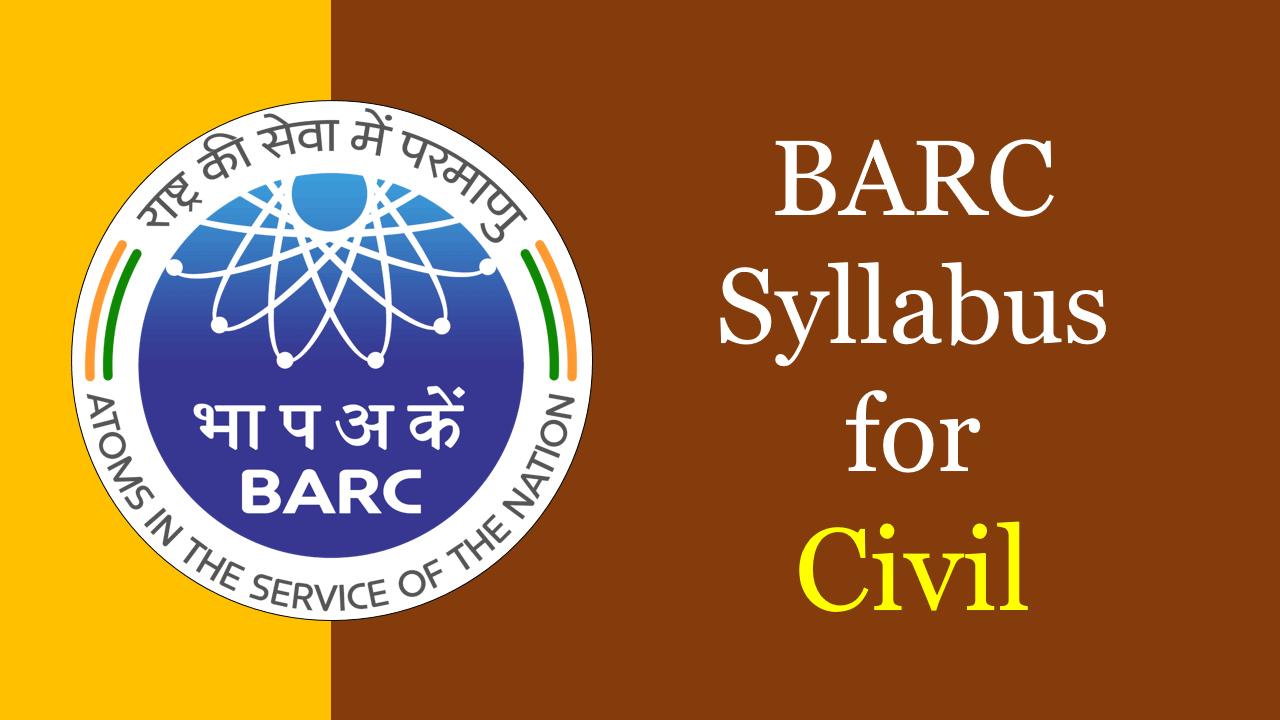BARC Syllabus for Civil