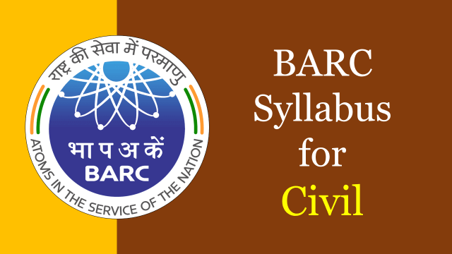 BARC Syllabus for Civil