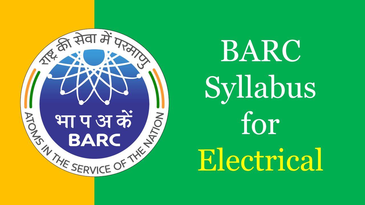 BARC Syllabus for Electrical