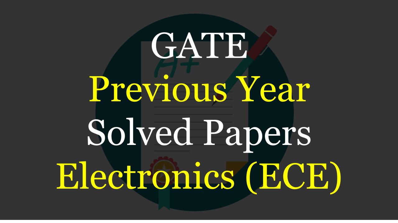 For ece books pdf gate
