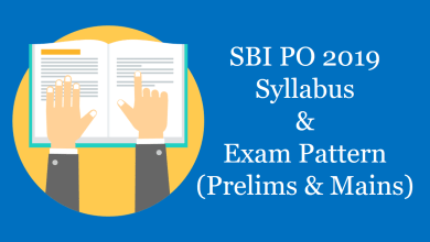 Photo of SBI PO 2019 Syllabus & Exam Pattern