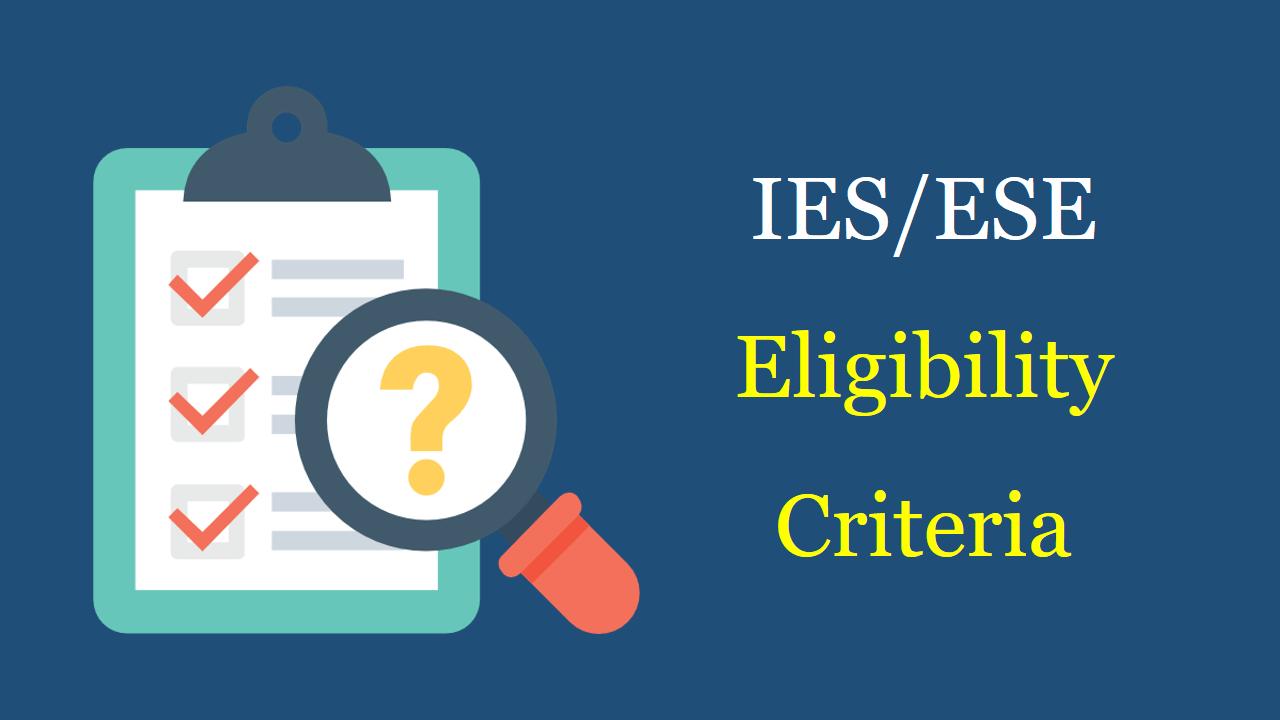 ies eligibility 2020