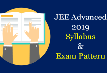 Photo of JEE Advanced 2019 Syllabus