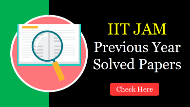 IIT JAM Previous Year Solved Papers