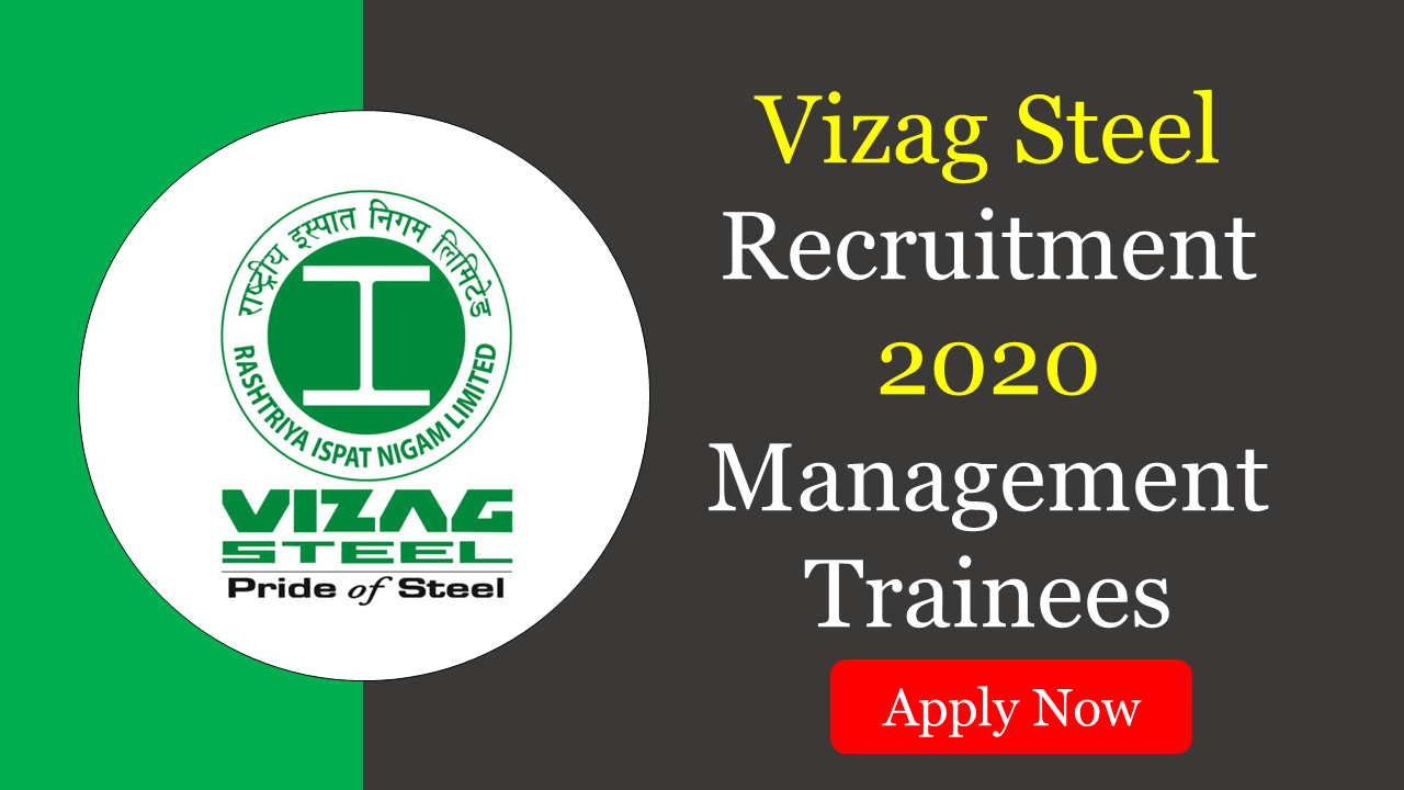 vizag steel recruitment 2020