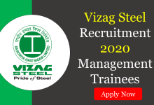 Photo of Vizag Steel Recruitment 2020 without GATE