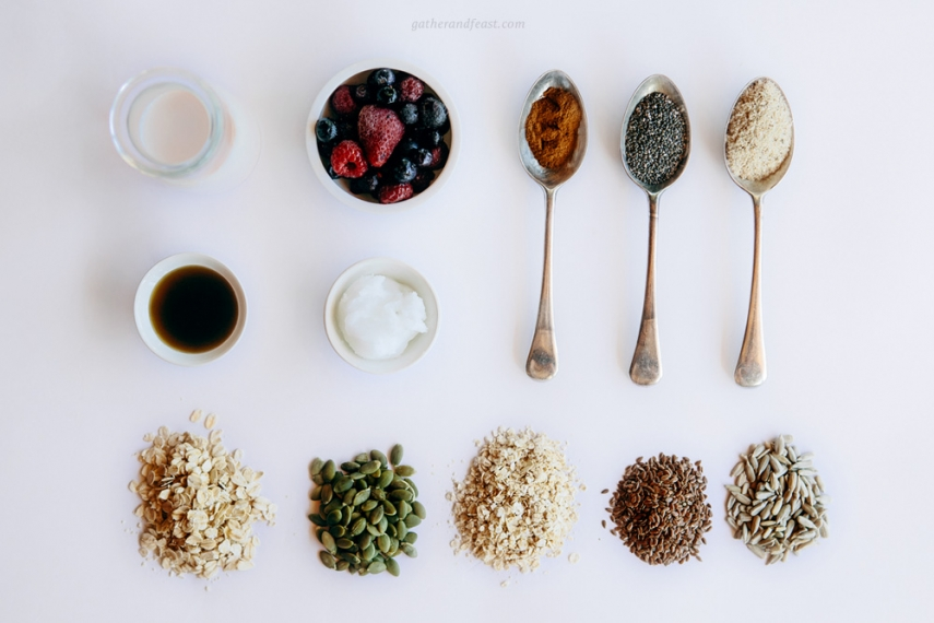 Baked+Berry+Oatmeal++%7C++Gather+%26+Feast