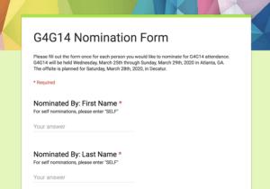 Nomination Form