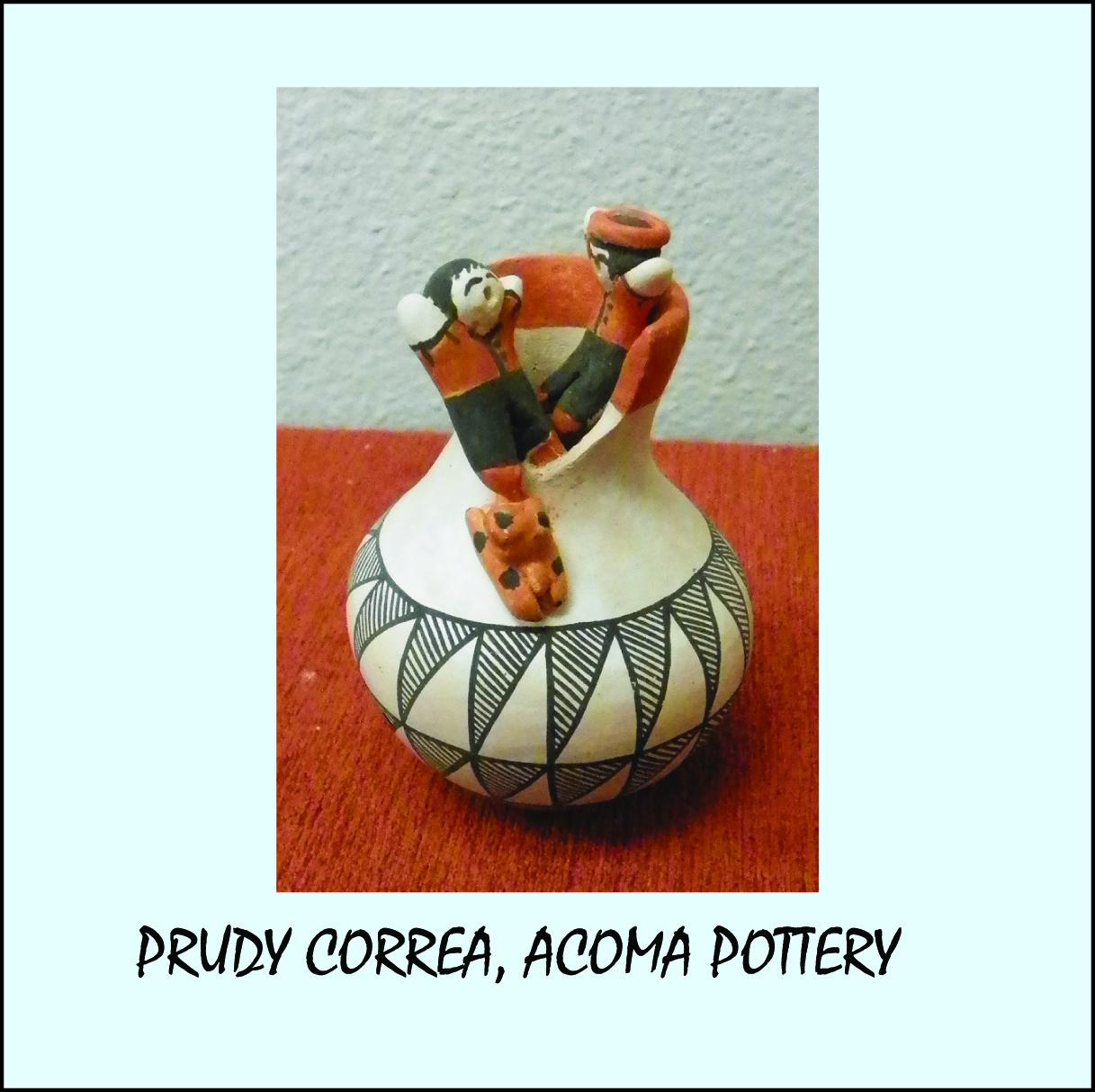 Prudy Correa, Acoma Pueblo