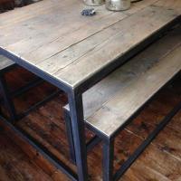 Angle Iron Table 495 | Gathering Moss