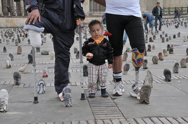 minas antipersonal