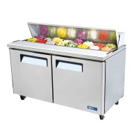 Sandwich/Pizza Prep Table REFRIGERATED TOP TURBO MST-60 | eBay