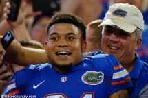 Florida Gators Breaking Football