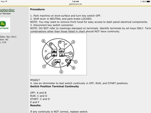 small resolution of john deere tractor ignition switch wiring diagram data diagram john deere tractor ignition switch wiring diagram