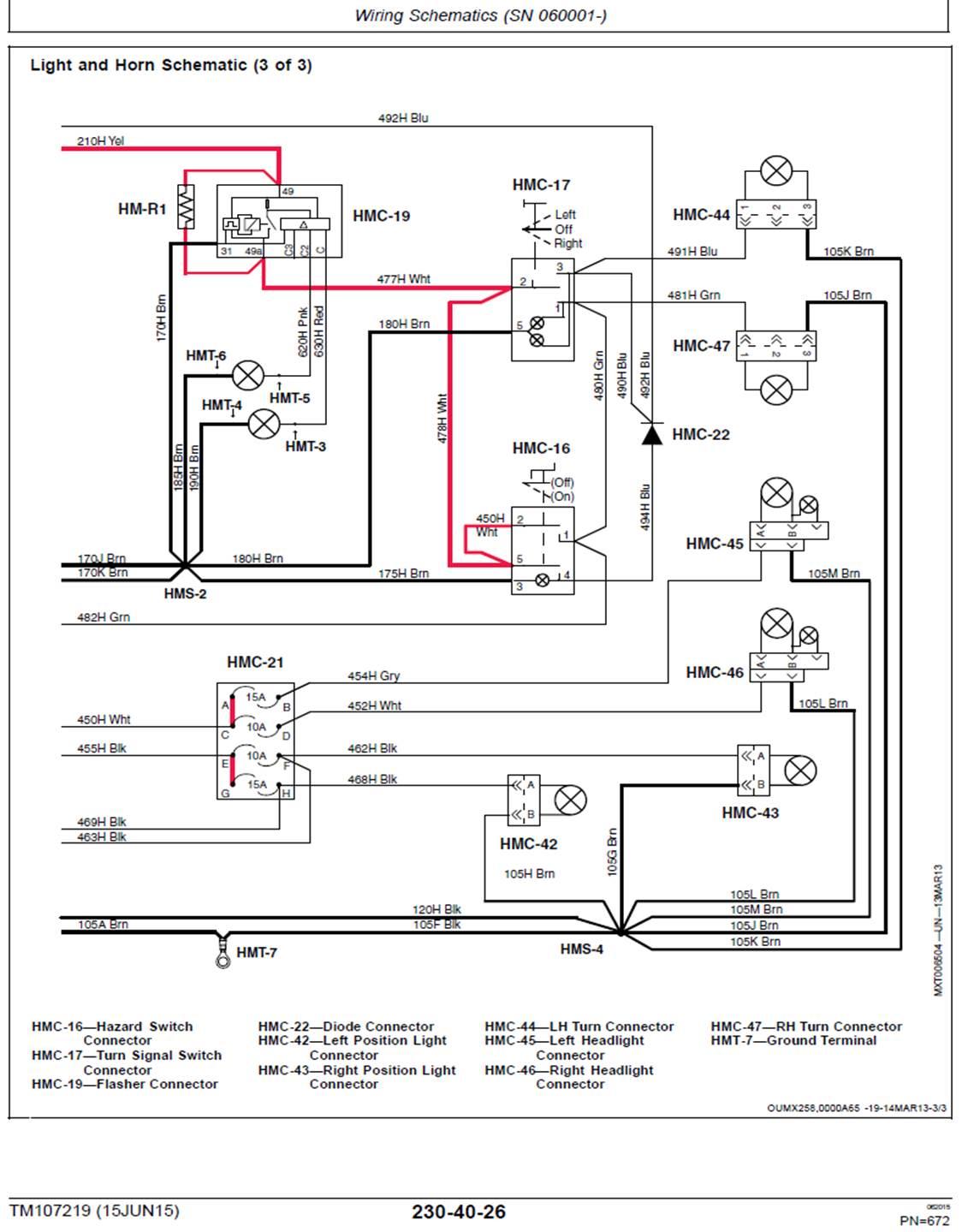 Wiring Horn Amp Blinkers