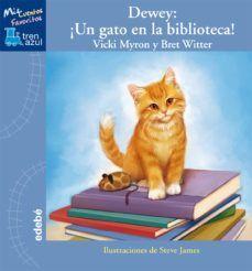 Dewey un gato en la biblioteca