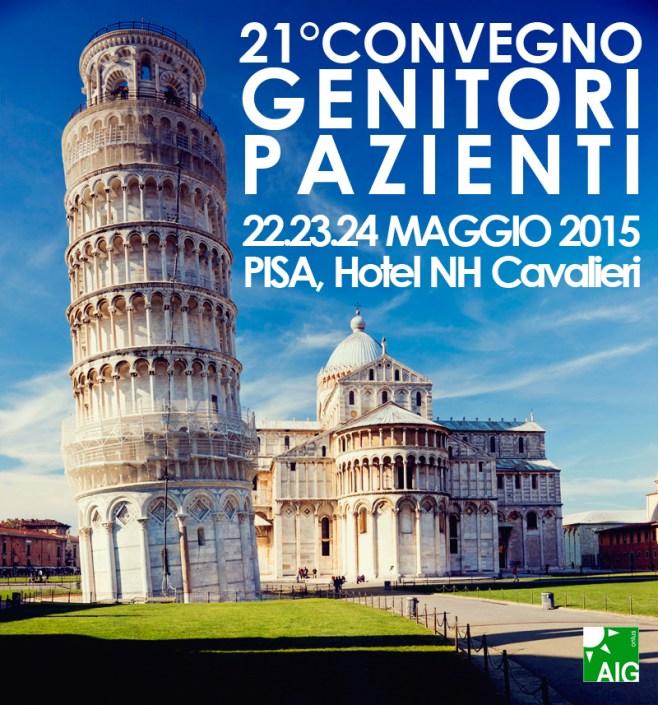 21° Convegno Genitori Pazienti - 22, 23, 24 Maggio 2015