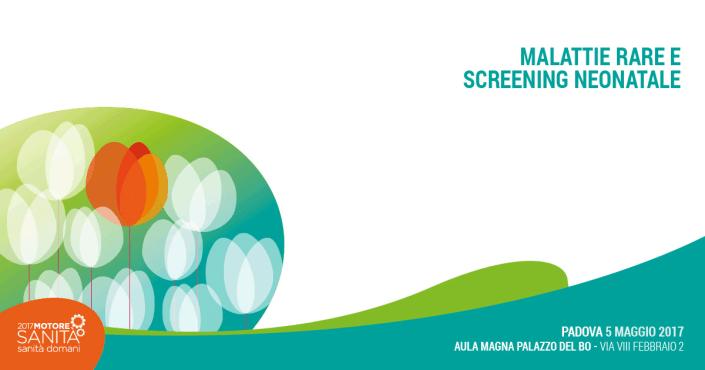 Screening neonatale malattie rare