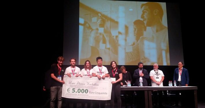 CloudIA vince la seconda edizione del Rare Disease Hackathon