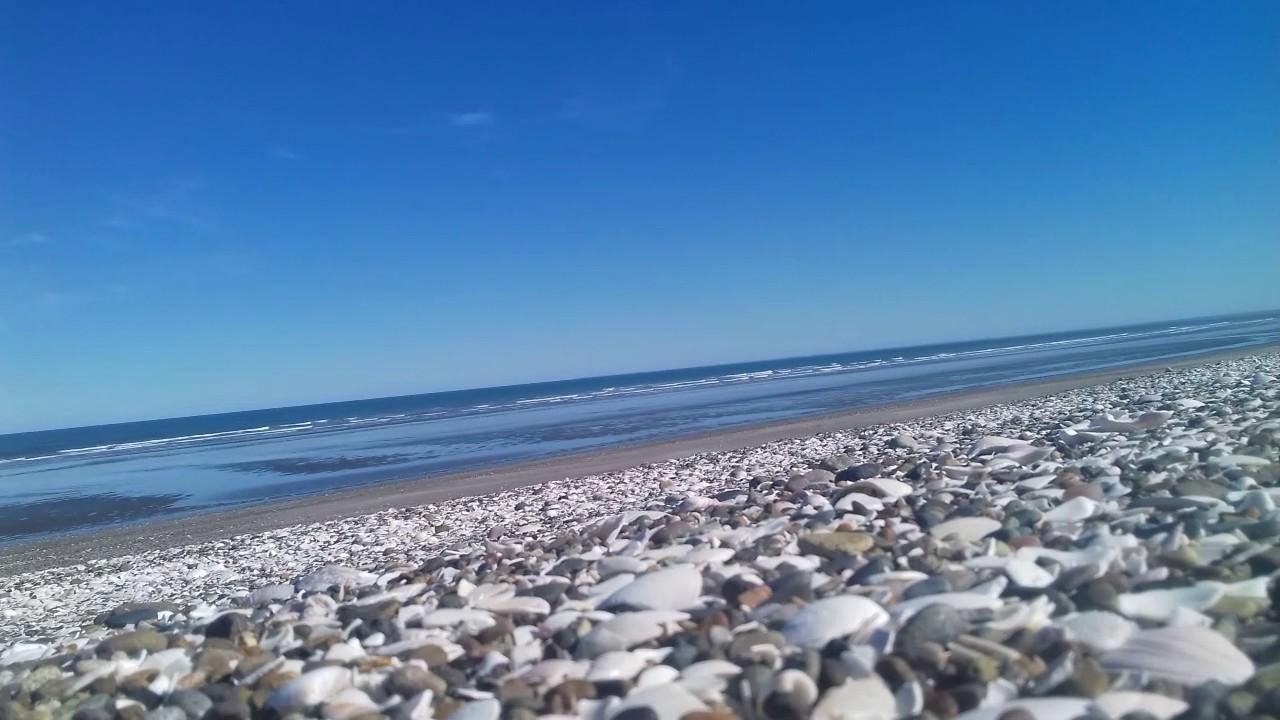 mare argentina Las Conchillas spiaggia