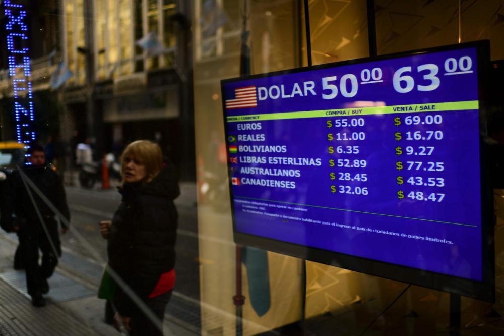 World Economic Outlook crisi argentina prospettive pil inflazione