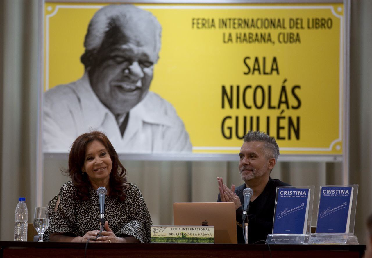 Vicepresidente argentina:
