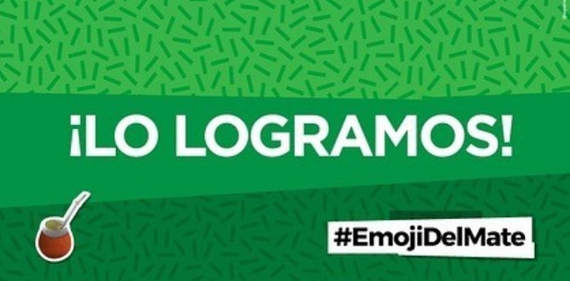 emoji del mate emoticon