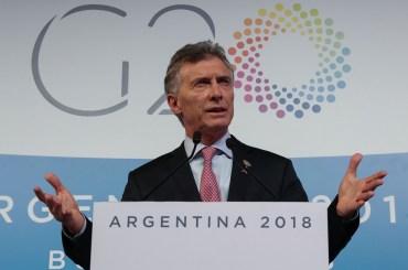 g20 buenos aires macri bilancio