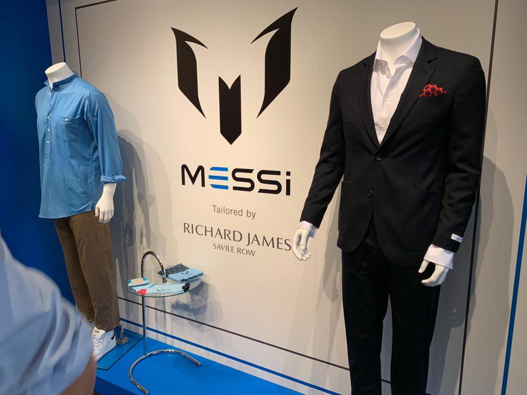 lionel messo marca abbigliamento the messi store