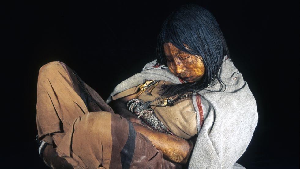 Llullaillaco argentina salta bambini mummie