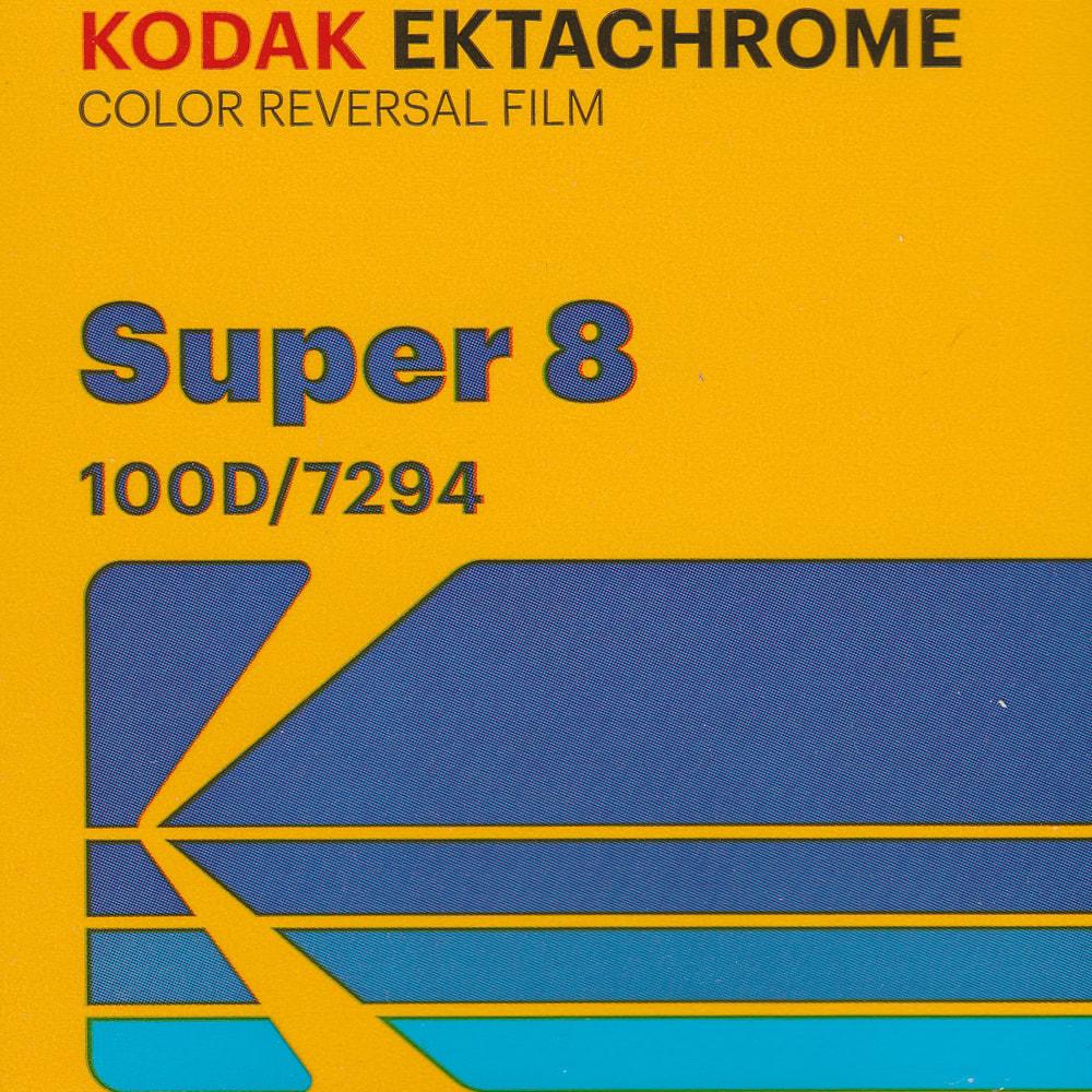 Kodak Ektachrome 100D Super 8 Colour Reversal Film