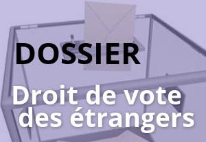 droit de vote des étrangers