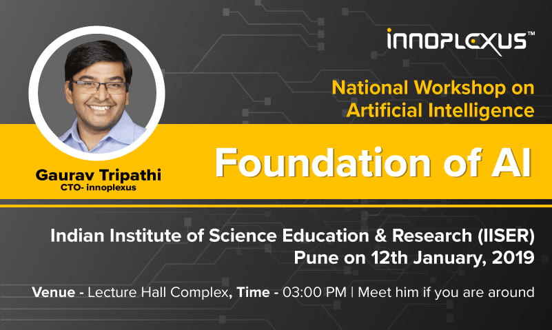 My talk at National Level Workshop on Artificial Intelligence at IISER Pune