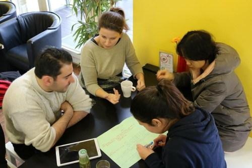 Workshop für Geflüchteten-Helfer_innen