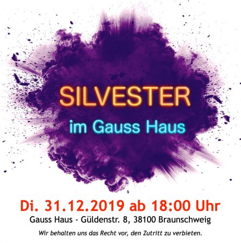 New Year's Eve in Gauss Haus