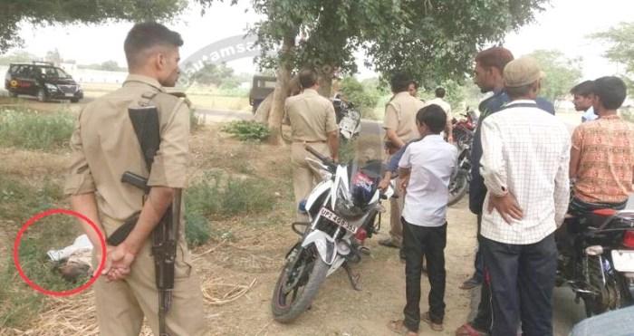सेना की तैयारी कर रहे युवा की हत्या, पुलिस की गाड़ी के पास मिली लाश