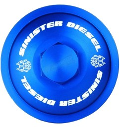 sinister diesel fuel filter cap sd ffc 6 0 display gallery item 1 [ 1000 x 1000 Pixel ]