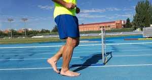 ריצה יחפה איך להתחיל