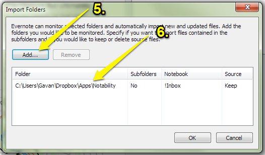 Evernote Windows Import Folders