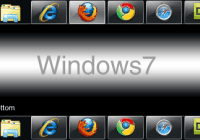 Windows7 Taskbar show or hide