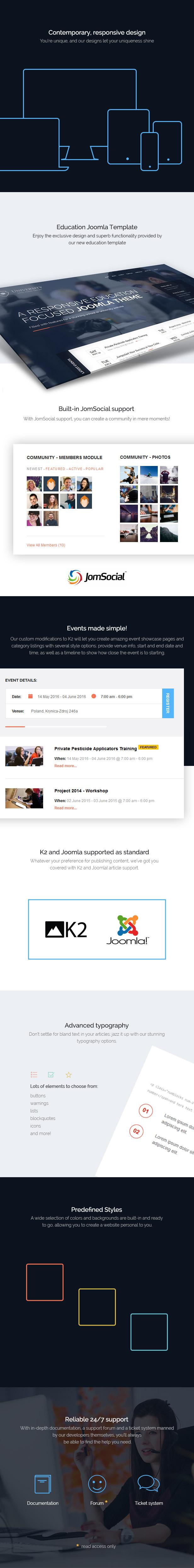 University - Joomla Education Template from GavickPro