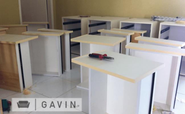 Meja Kantor Minimalis Untuk Pak Dian Di Cirebon Kitchen
