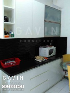Model Kitchen Set Minimalis Finishing Duco