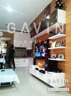 Backdrop tv home interior