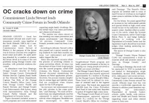 Orange County Crime Forum 2007 Gavin P Smith