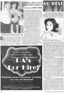 Go West Movie Premiere 1 - Wilmington, NC 1999