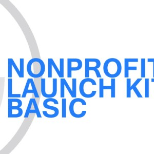 Gavin Consulting - Nonprofit Launch Kit - Basic