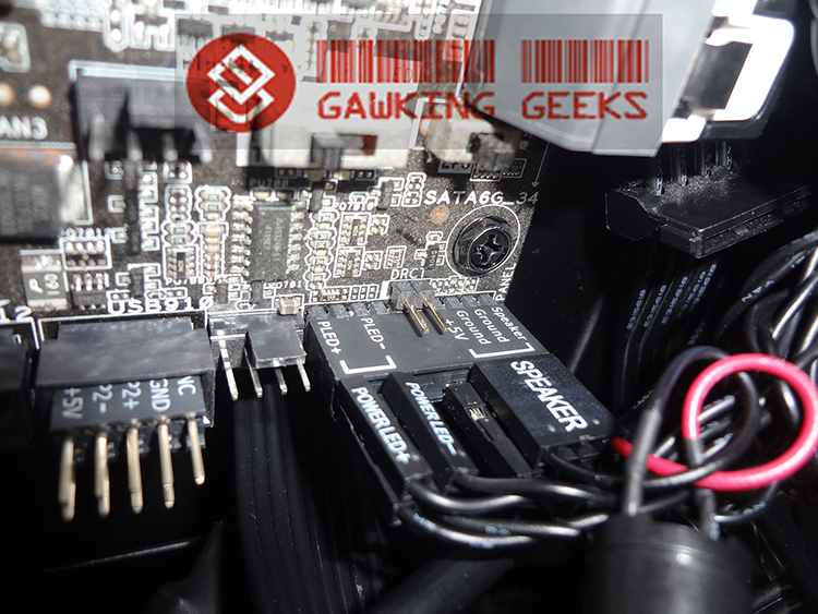 The Asus Q-connector