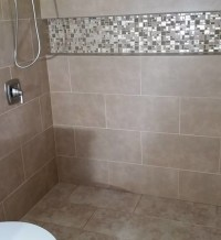 Curbless Shower with Linear Drain | GAWLEY BUILDING ...