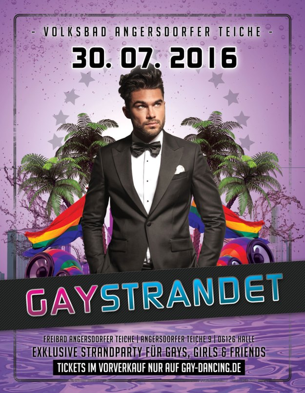 Gay Festival in Halle - gaySTRANDET